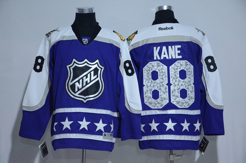 Blackhawks 88 Patrick Kane Purple Central Division 2017 NHL All-Star Game Premier Jersey