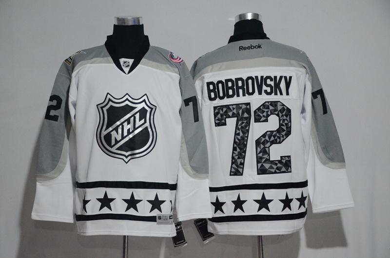 Blue Jackets 72 Sergei Bobrovsky White Metropolitan Division 2017 NHL All-Star Game Premier Jersey