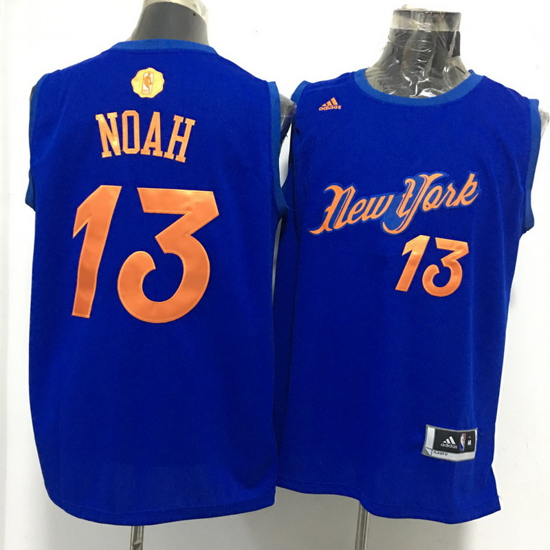 Knicks 13 Joakim Noah Blue 2016 Christmas Day Swingman Jersey