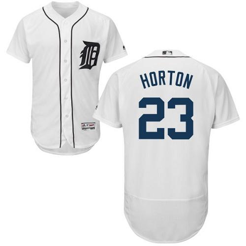 Tigers 23 Willie Horton White Flexbase Jersey