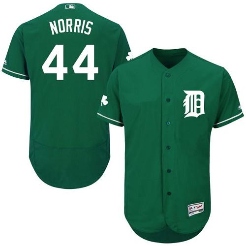 Tigers 44 Daniel Norris Green Celtic Flexbase Jersey