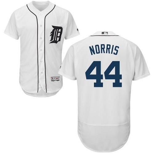 Tigers 44 Daniel Norris White Flexbase Jersey