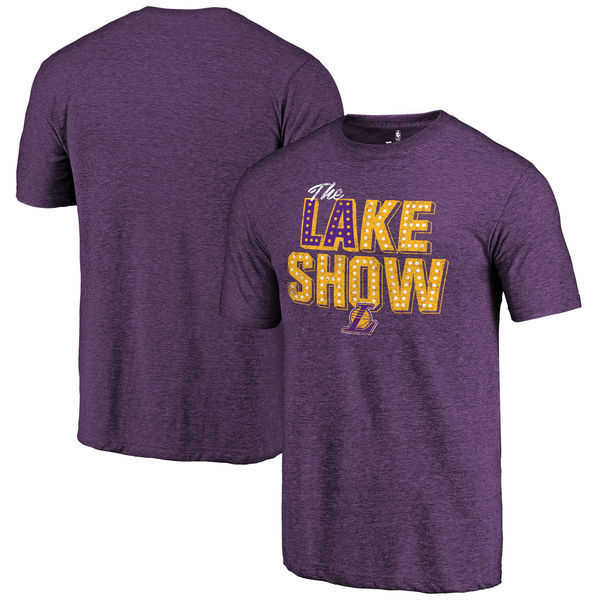 Los Angeles Lakers Fanatics Purple Men's T-Shirt