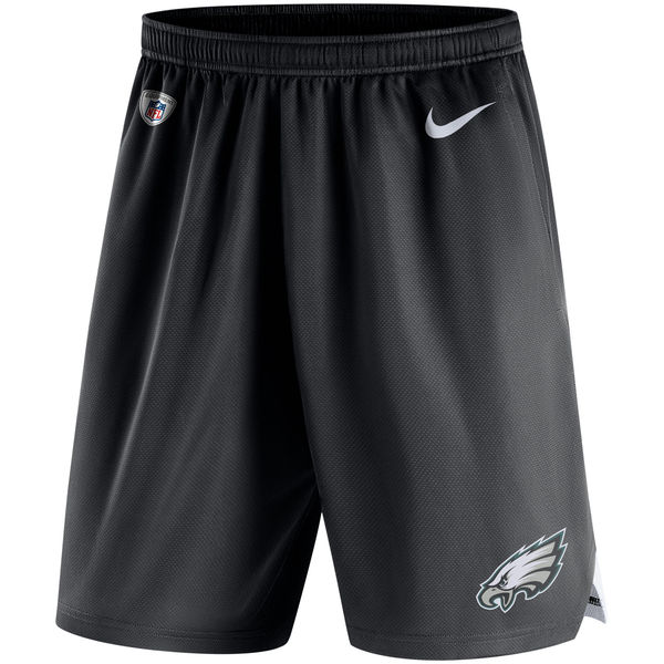 Men's Philadelphia Eagles Nike Black Knit Performance Shorts