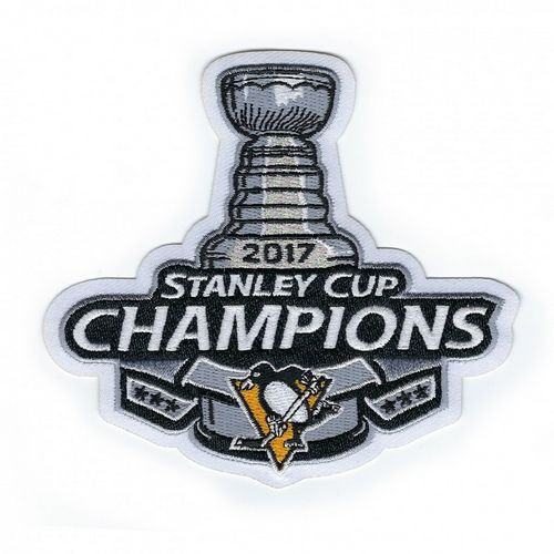 Penguins 2017 Stanley Cup Champions Patch