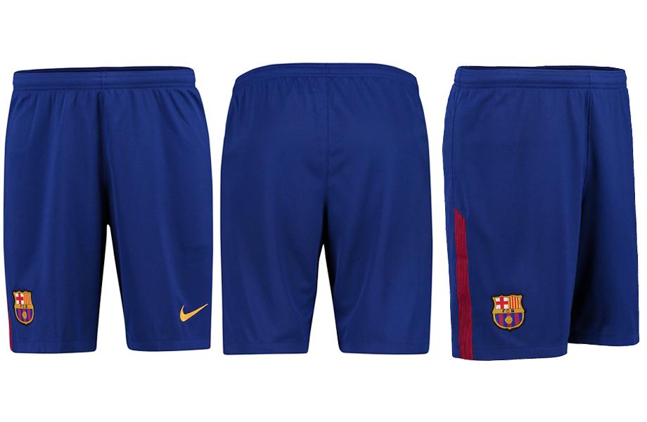 2017-18 Barcelona Home Thailand Soccer Shorts