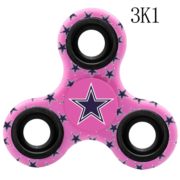 Dallas Cowboys Multi-Logo 3 Way Fidget Spinner