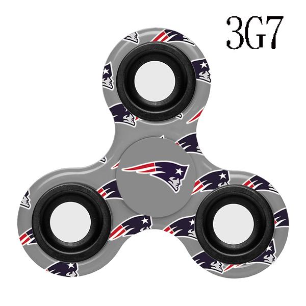 New England Patriots Multi-Logo 3 Way Fidget Spinner
