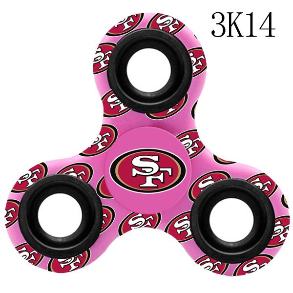 San Francisco 49ers Multi-Logo 3 Way Fidget Spinner