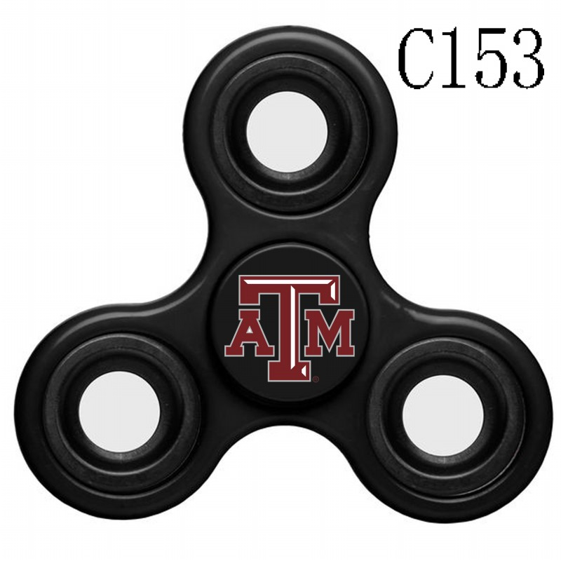 Texas A&M Aggies Team Logo Black 3 Way Fidget Spinner