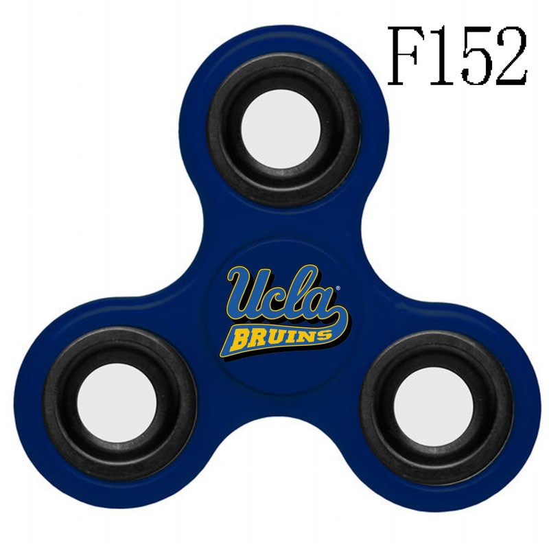 UCLA Bruins Team Logo Navy 3 Way Fidget Spinner