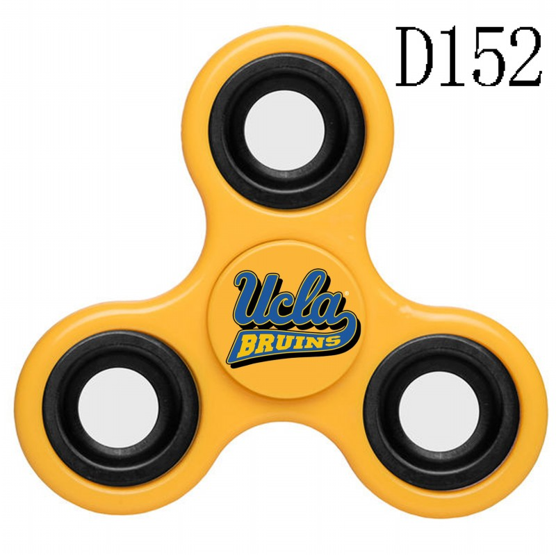 UCLA Bruins Team Logo Yellow 3 Way Fidget Spinner