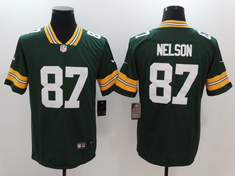 Nike Packers 87 Jordy Nelson Green Vapor Untouchable Player Limited Jersey