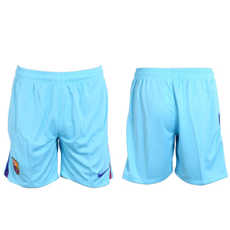 2017-18 Barcelona Away Soccer Shorts
