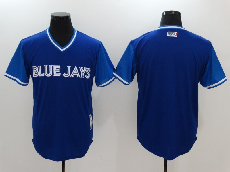 Blue Jays Majestic Navy 2017 Players Weekend Team Jersey