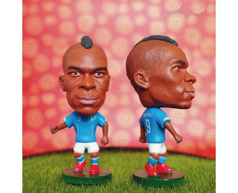 Italy 9 BALOTELLI Soccer Figures