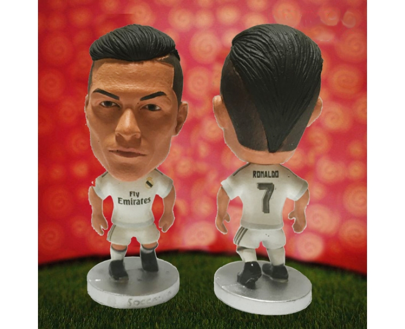 Real Madrid 7 RONALDO Soccer Figures