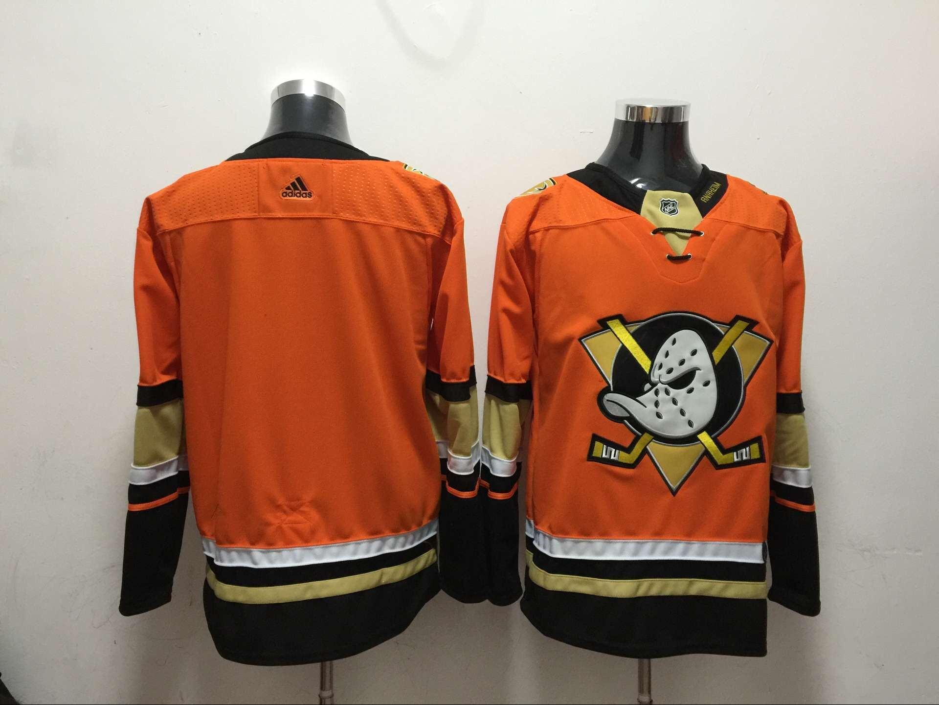 Ducks Blank Orange Adidas Jersey