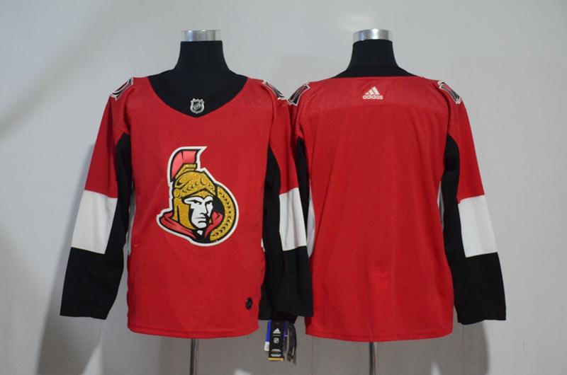 Senators Blank Red Adidas Jersey