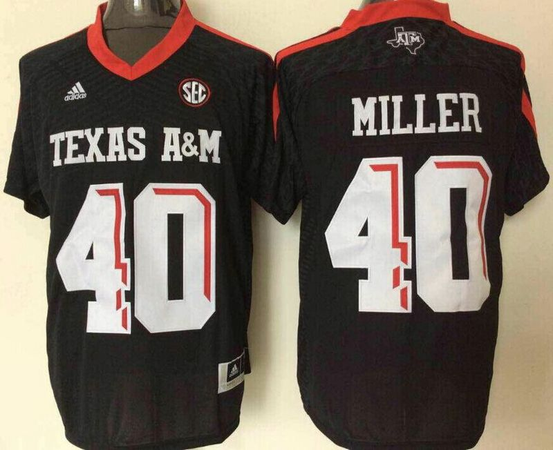 Texas A&M Aggies 40 Von Miller Black College Football Jersey