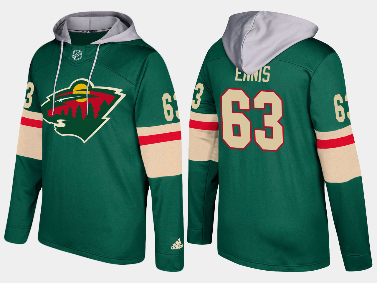 Nike Wild 63 Tyler Ennis Name And Number Green Hoodie