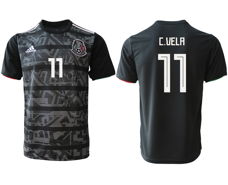 2019-20 Mexico 11 C.UELA Away Thailand Soccer Jersey