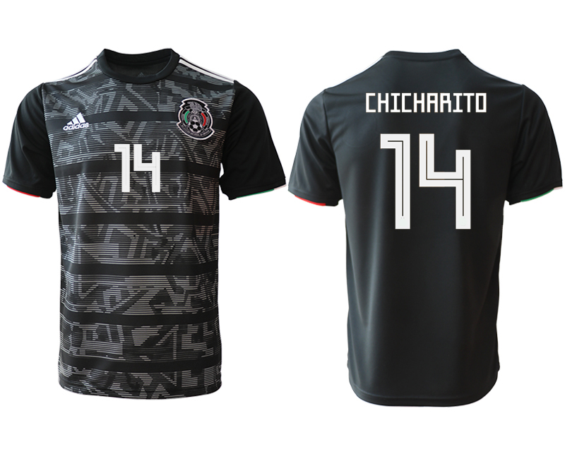 2019-20 Mexico 14 CHICHARITO Away Thailand Soccer Jersey