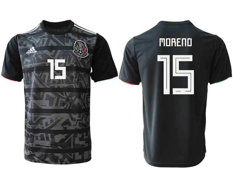 2019-20 Mexico 15 MDRENO Away Thailand Soccer Jersey