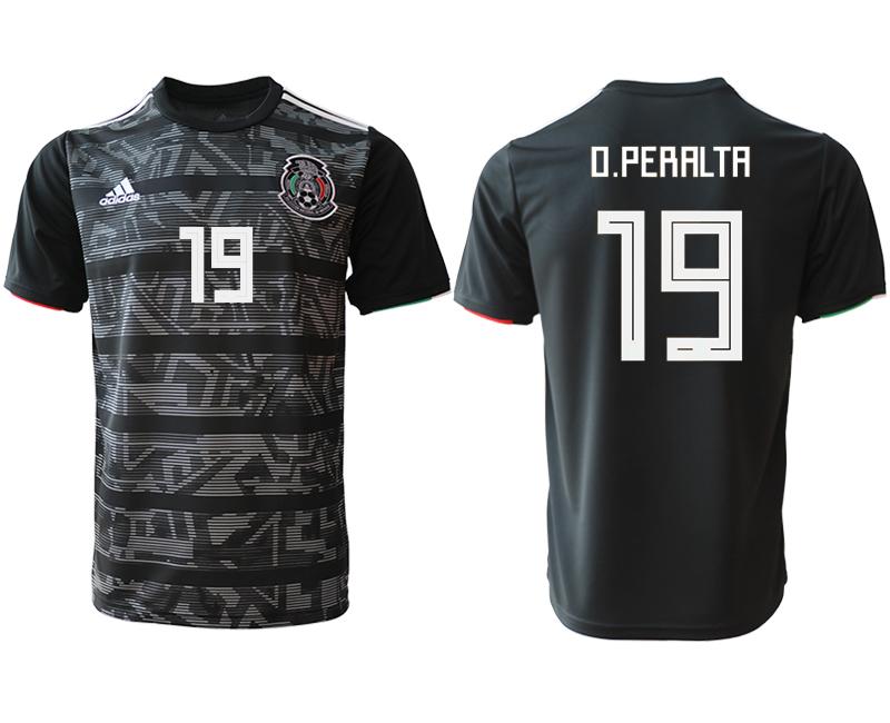 2019-20 Mexico 19 O.PERALTA Away Thailand Soccer Jersey