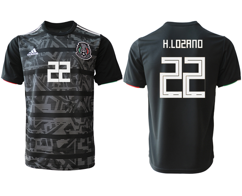 2019-20 Mexico 22 H.LOSANO Away Thailand Soccer Jersey