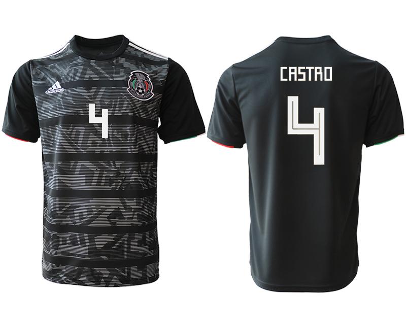 2019-20 Mexico 4 CASTRO Away Thailand Soccer Jersey