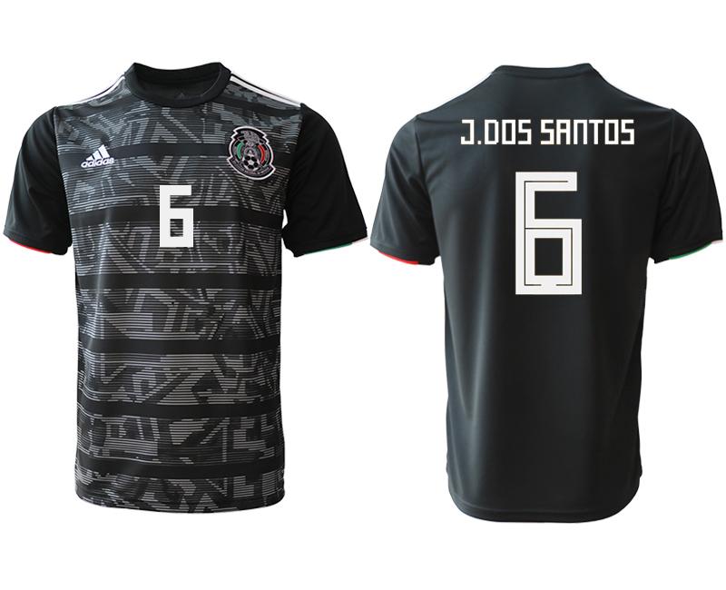 2019-20 Mexico 6 C.DOS SANTOS Away Thailand Soccer Jersey