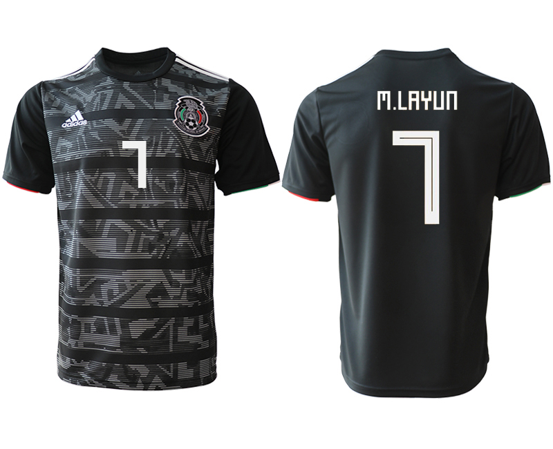 2019-20 Mexico 7 M.LAYUN Away Thailand Soccer Jersey
