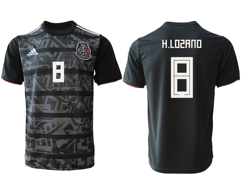 2019-20 Mexico 8 H.LOSANO Away Thailand Soccer Jersey