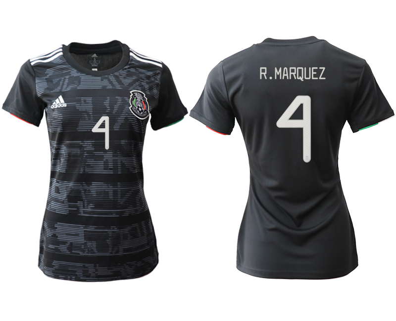 2019-20 Mexico 4 R.MARQUEZ Home Women Soccer Jersey