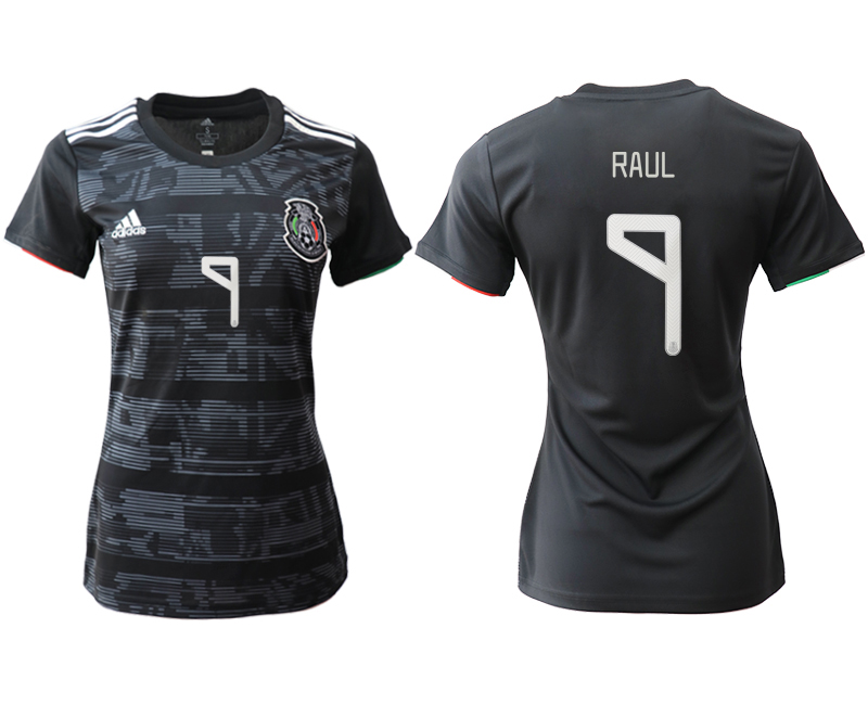 2019-20 Mexico 9 PAUL Home Women Soccer Jersey