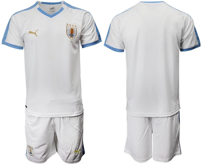 2019-20 Uruguay Away Soccer Jersey