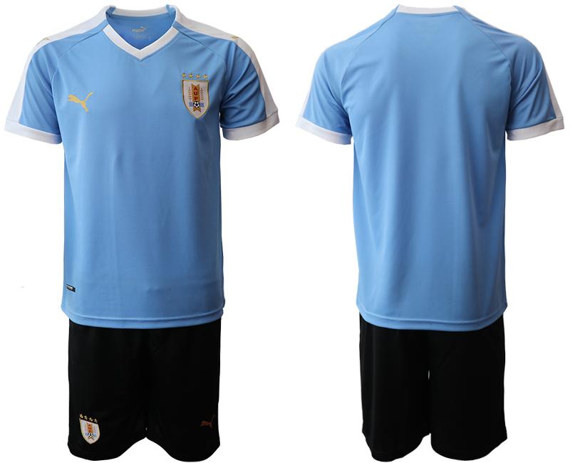 2019-20 Uruguay Home Soccer Jersey