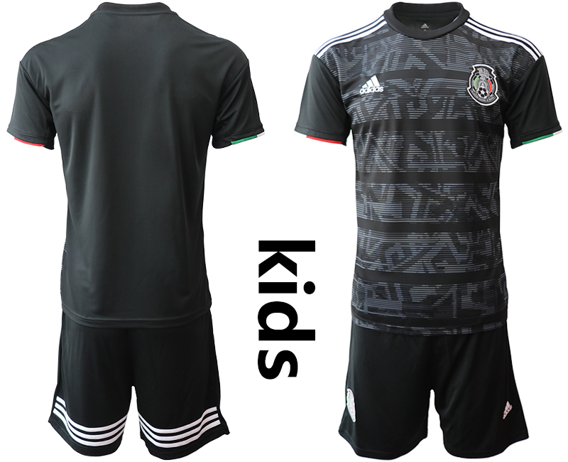 2019-20 Mexico Home Youth Soccer Jersey