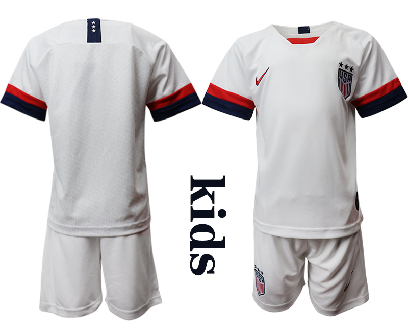 2019-20 USA Home Youth Soccer Jersey