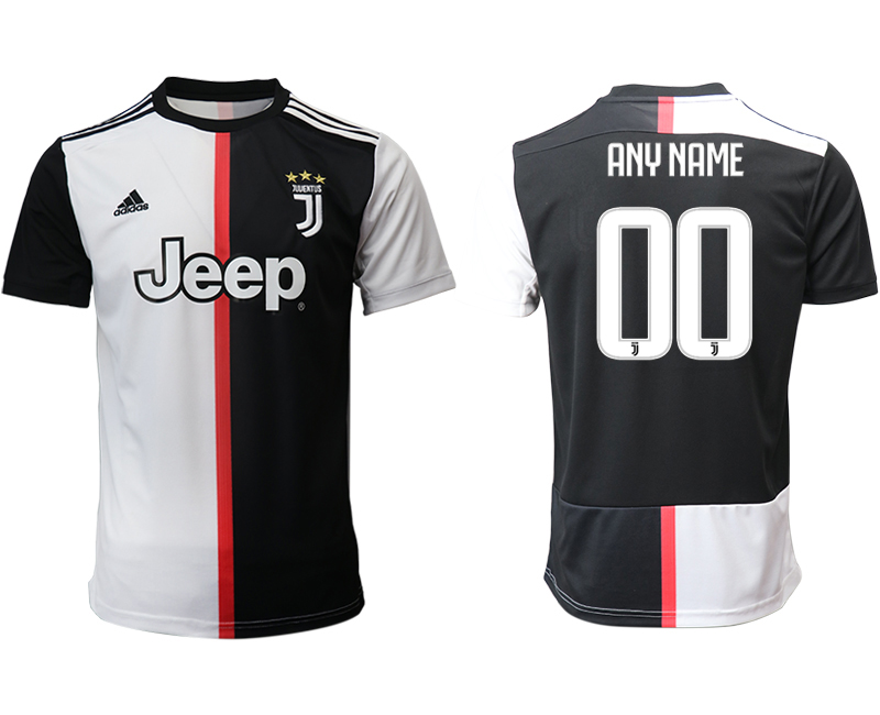 2019-20 Juventus Customized Home Thailand Soccer Jersey