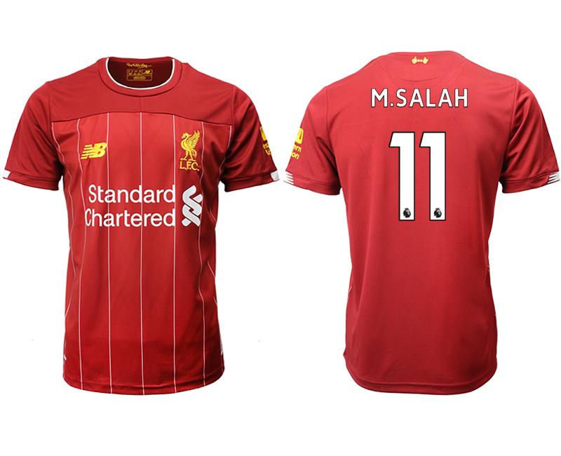 2019-20 Liverpool 11 M.SALAH Home Thailand Soccer Jersey