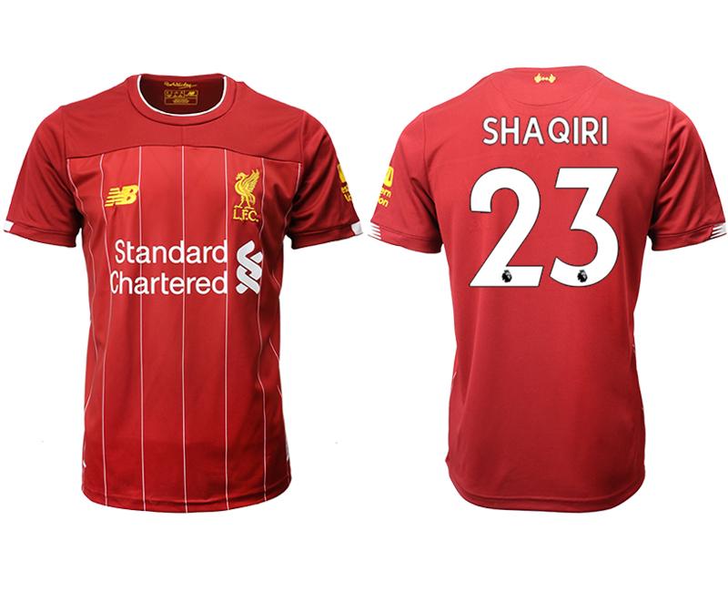 2019-20 Liverpool 23 SHAQIRI Home Thailand Soccer Jersey