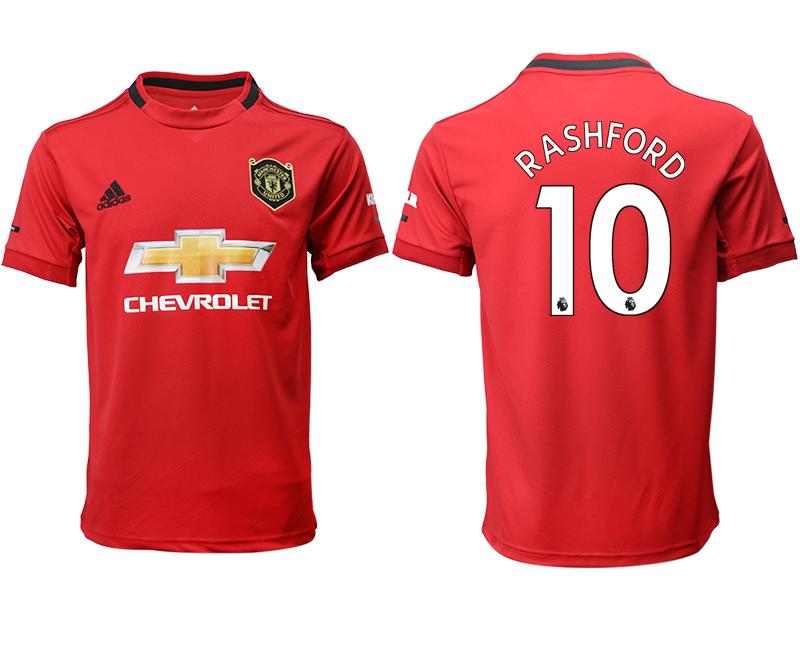 2019-20 Manchester United 10 RASHFORD Home Thailand Soccer Jersey