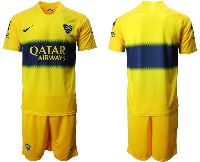 2019-20 Boca Juniors Away Soccer Jersey