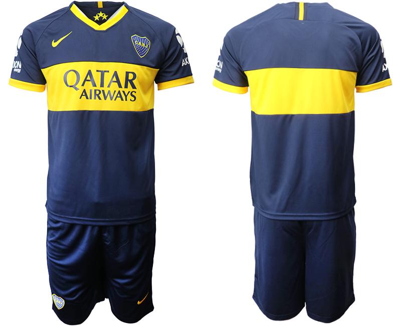 2019-20 Boca Juniors Home Soccer Jersey