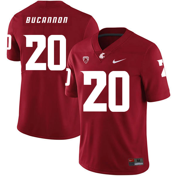 Washington State Cougars 20 Deone Bucannon Red College Football Jersey