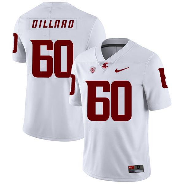 Washington State Cougars 60 Andre Dillard White College Football Jersey