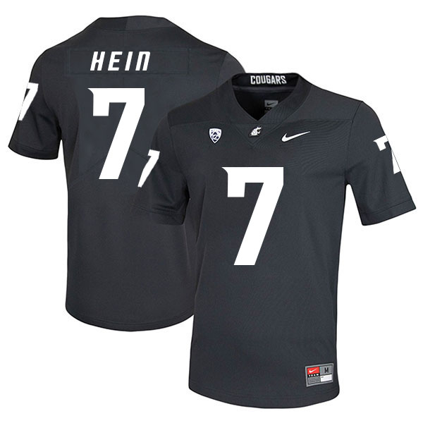 Washington State Cougars 7 Mel Hein Black College Football Jersey