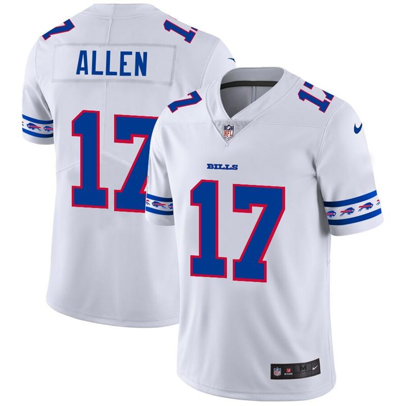 Nike Bills 17 Josh Allen White 2019 New Vapor Untouchable Limited Jersey